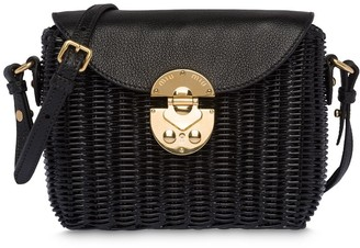 Miu Miu Wicker woven shoulder bag