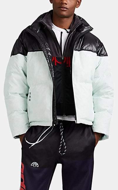adidas by Alexander Wang Women's Down Puffer Jacket - Black