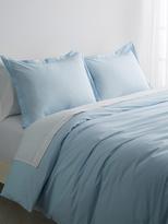 Melange Home Double Pleat Solid Duvet Set