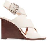 Alexander Wang Elisa leather wedge sandals