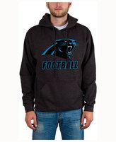 Junk Food Clothing Men's Carolina Panthers Wing-T Formation Hoodie