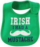 "Carter's Baby Irish I Had a Mustache"" Graphic Bib"
