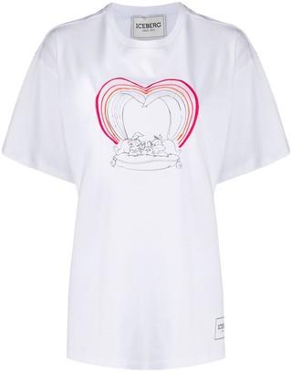 Iceberg Disney print T-shirt