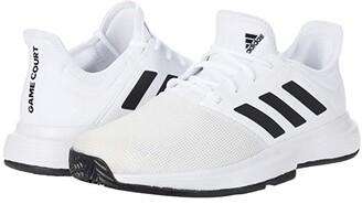 adidas GameCourt (Footwear White/Core Black/Grey One) Men's Shoes