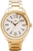 Tommy Hilfiger 1781370 Women's Maxi Dial Gold Plated Steel Bracelet Watch