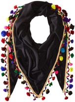 Betsey Johnson Spring Fling Triangle Scarf Scarves