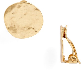 Karine Sultan Circle Earrings