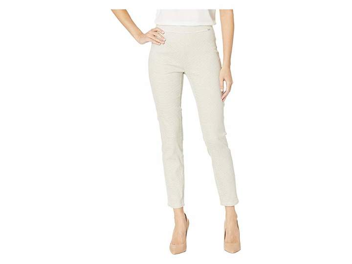 FDJ French Dressing Jeans Honeycomb Print Pull-On Ankle in Sand