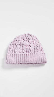 Rosie Sugden Cable Knit Beanie