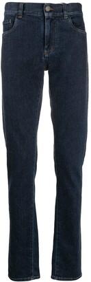 Canali Straight Fit Denim Jeans
