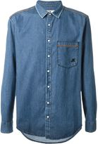 MSGM chest pocket denim shirt