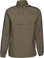 Farah Mens Donnelly Overhead Jacket Military Green
