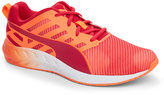 Puma Red & Orange Flare Graphic Lace-Up Sneakers