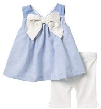 Miniclasix Top & Leggings Set (Baby Girls)