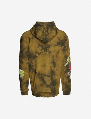 Alchemist Amazonia tie-dye cotton-jersey hoody