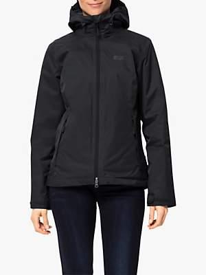 Jack Wolfskin Gotland 3-in-1 Women's Waterproof Jacket, Black