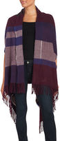 Lord & Taylor Striped Blanket Scarf
