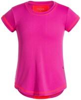 Reebok High-Performance T-Shirt - Crew Neck, Short Sleeve (For Little Girls)