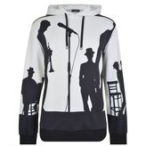 Dolce And Gabbana Jazz Shadow Hooded Sweatshirt