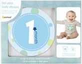 Pearhead Blue Baby Milestone Sticker Set