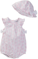 Absorba Sunsuit & Hat Set (Baby Girls)