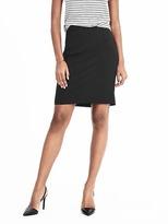 Banana Republic High-Waisted Lightweight Wool Pencil Skirt