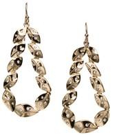 St. John Shimmer Leaf & Swarovski Crystal Earring