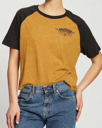 Superdry Speedway Raglan Boyfriend Boxy T-Shirt