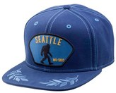 Goorin Bros. Men's Brothers 'Bigfoot' Snapback Cap - Blue