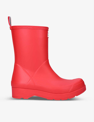 Hunter Original Play mid-top rubber wellington boots