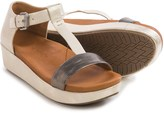 Gentle Souls Janelle Platform Sandals - Leather (For Women)