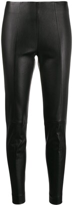 Bally Slim Leather Trousers