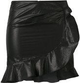 Isabel Marant Aurora mini skirt - women - Cotton/Linen/Flax - 40