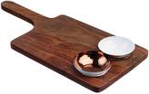 Just Slate Sheesham Wood Serving Paddle & Bowl Set