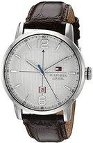 Tommy Hilfiger Men's 1791217 George Analog Display Japanese Quartz Brown Watch