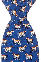 Class Club Hound Dog Silk Zipper Tie