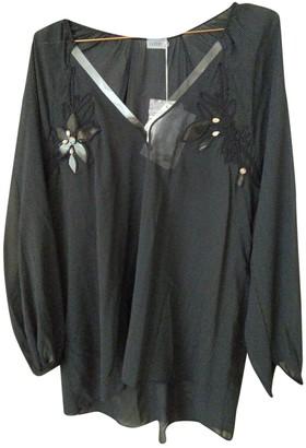 La Perla Navy Silk Top for Women