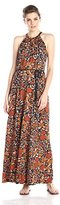 Lucky Brand Women's Vintage Floral Maxi Dress