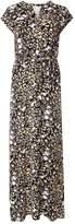 Dorothy Perkins Black Ditsy Floral Print Jersey Maxi Dress