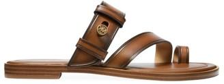 MICHAEL Michael Kors Brayden Flat Leather Sandals