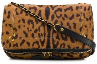 Jerome Dreyfuss Bob leopard shoulder bag