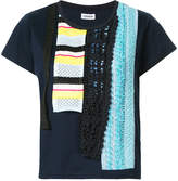 Coohem embroidered patch T-shirt
