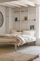 Urban Outfitters Bohemian Platform Bed - White