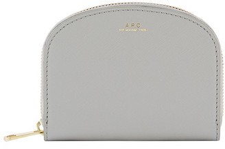 A.P.C. Half-moon leather wallet