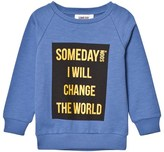Someday Soon Blue Ivan Crewneck Sweatshirt