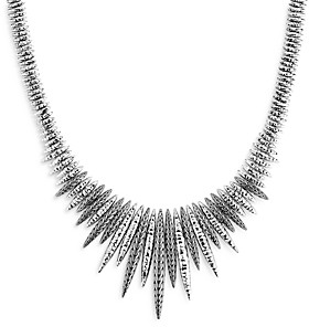 John Hardy Sterling Silver Classic Chain Spear Statement Necklace, 18
