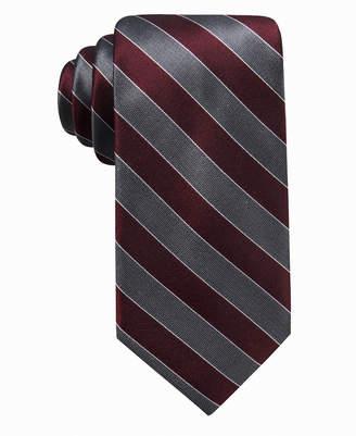 Ryan Seacrest Distinction Men Andros Stripe Silk Tie