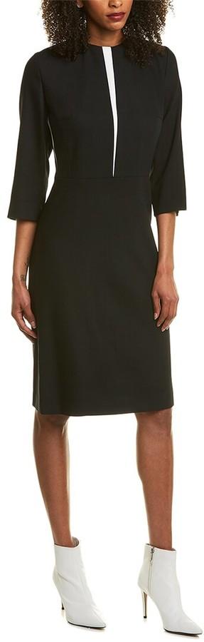 Escada Dlevissa Wool-Blend Sheath Dress
