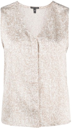 Eileen Fisher Abstract-Print Top