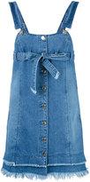 SteveJ & YoniP Steve J & Yoni P - denim overall dress - women - Cotton - XS